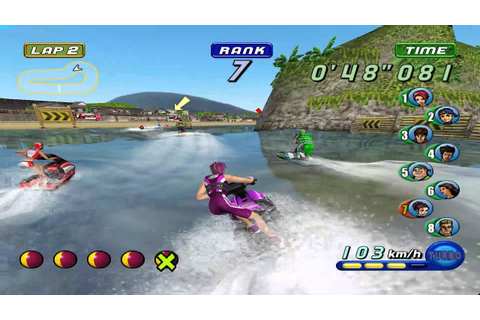 Wave Race Blue Storm 1080p dolphin - YouTube