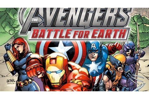 CGRundertow MARVEL AVENGERS: BATTLE FOR EARTH for Xbox 360 ...