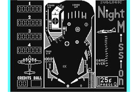 Night Mission Pinball - Commodore 64 - Games Database