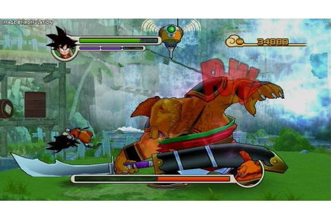 Dragon Ball - Revenge of King Piccolo (USA) Nintendo Wii ...