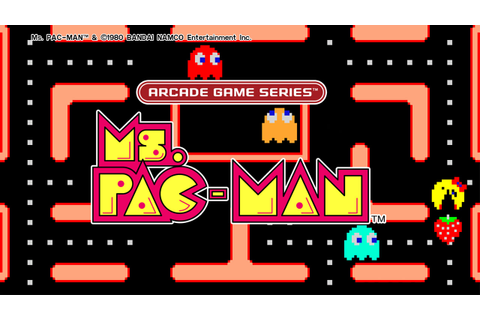 ARCADE GAME SERIES: Ms. PAC-MAN on PS4 | Official ...