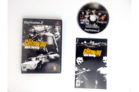 The Getaway Black Monday game for Playstation 2 (Complete ...