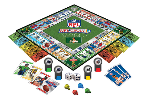 NFL Opoly Junior Board Game – Sports Fanz
