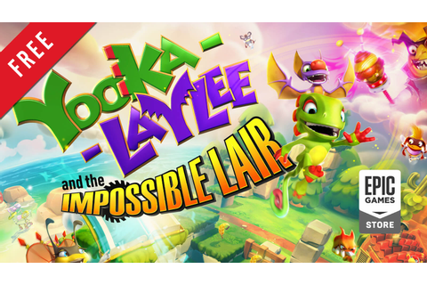 Yooka-Laylee and the Impossible Lair Free on Epic Games ...