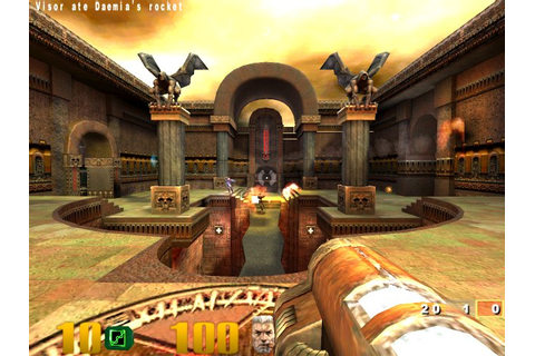 Quake III Arena was specifically designed for multiplayer ...