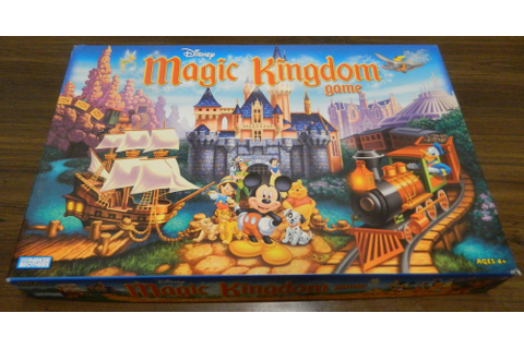 Disney Magic Kingdom Game Board Game Review and Rules ...