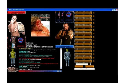 Master Of The Squared Circle- Online Wrestling Game - YouTube