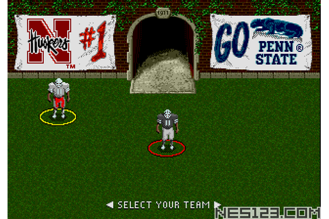 College Football's National Championship II SEGA Roms ...