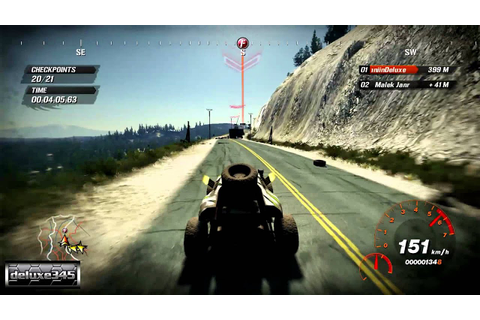 Fuel Video Game Gameplay (PC HD) - YouTube