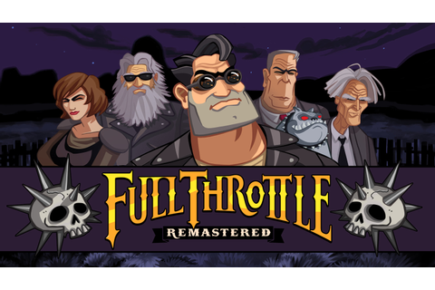 Full Throttle Remastered Game | PSVITA - PlayStation