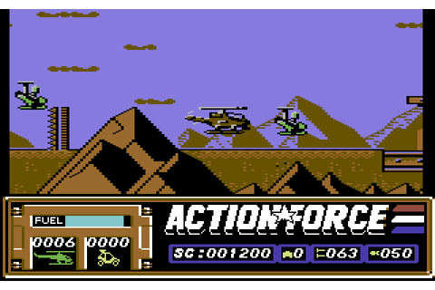 Action Force | Top 80's Games