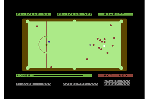 Download Classic Snooker (Commodore 64) - My Abandonware