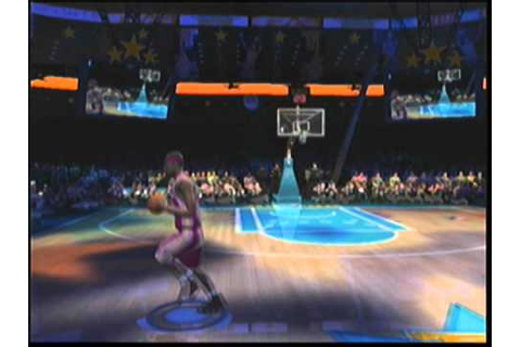 NBA Live 2005 Slam Dunk Contest Gameplay - YouTube