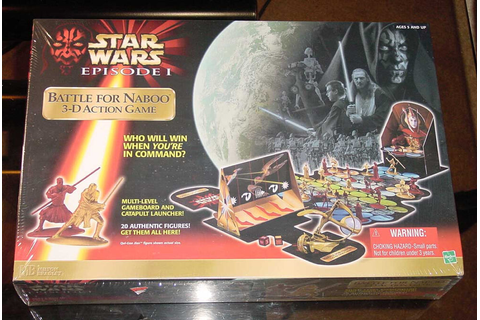 STAR WARS EPISODE 1 BATTLE FOR NABOO 3D ACTION GAME ...