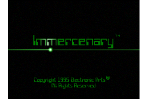 Super Adventures in Gaming: Immercenary (3DO) - Guest Post
