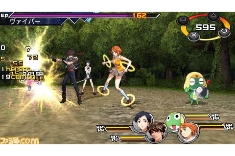 Upcoming PSP RPG Heroes Fantasia Mixes Characters from 10 ...
