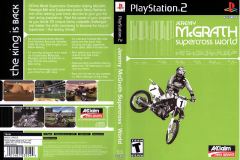 Jeremy McGrath Supercross World full game free pc ...