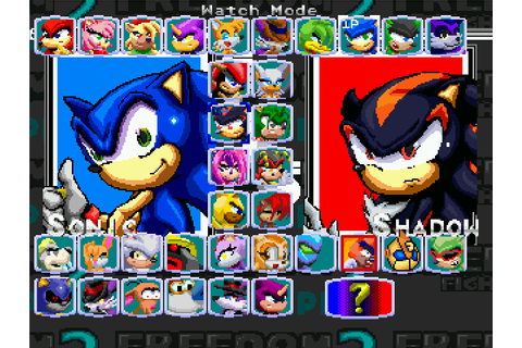 Sonic Freedom Fighters 2 plus (my version DL) by ...
