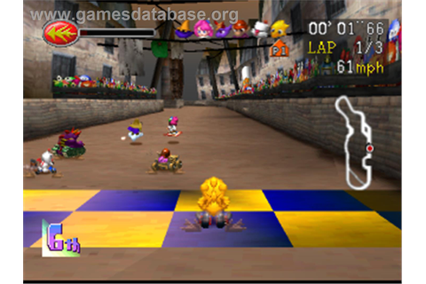 Chocobo Racing - Sony Playstation - Games Database