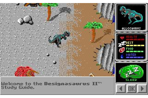 Designasaurus II Download (1990 Educational Game)