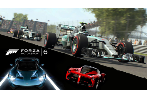 Forza Motorsport 6 & F1 2015 Game News, Screenshots - YouTube