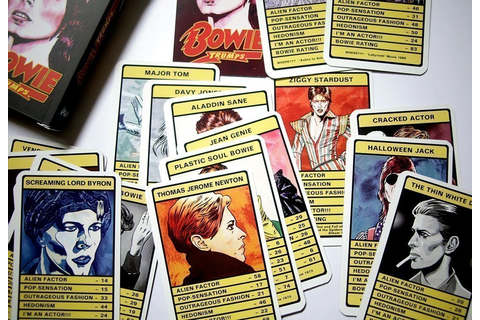 REVIEW: David Bowie - Trump Card Game | XS Noize | Online ...