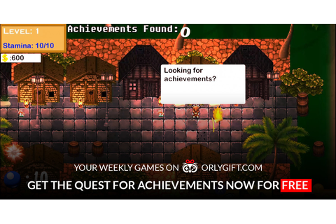 orlygift - Get The Quest for Achievements now for FREE