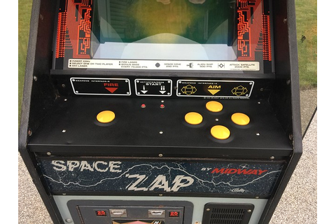 FT - Game: Space Zap Upright - Coin-op Videogame, Arcade ...