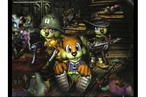Conker Live and Reloaded Music - Bar Menu (Quality Game ...