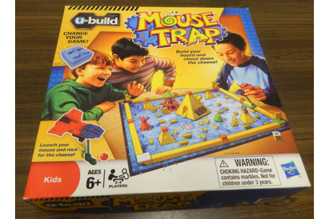 U-Build Mouse Trap Board Game Review and Rules | Geeky Hobbies