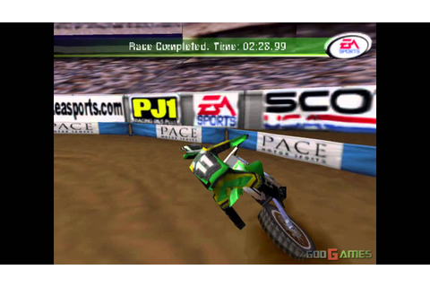 Supercross 2000 - Gameplay PSX / PS1 / PS One / HD 720P ...