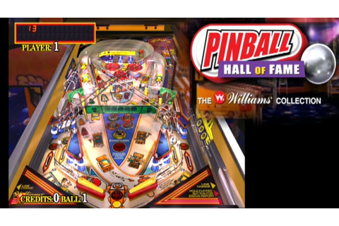 Pinball Hall of Fame: The Williams Collection ... (PS2 ...
