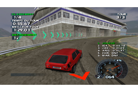World Racing 2 (Europe) PS2 ISO - CDRomance