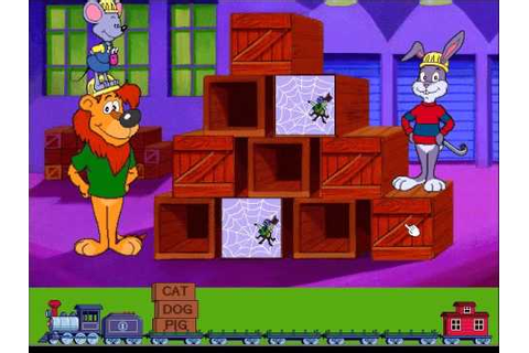 Reader Rabbit's Reading 1: Matchup Game, Level 1 - YouTube