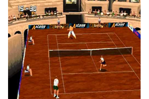 Smou plays Tennis Arena (PS1) - YouTube