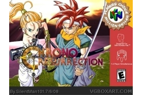 Chrono Resurrection Nintendo 64 Box Art Cover by SilentMan101
