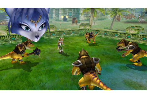 Staff Combat - Star Fox Adventures (HD) - YouTube