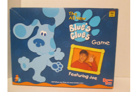 Blue's Clues Preschool Board Game | eBay