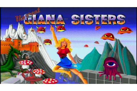 Giana Sisters In game music - Amiga hd - YouTube