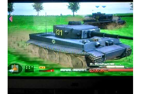 PANZER FRONT AUSF B PS2 TIGER TANK PART 1 - YouTube