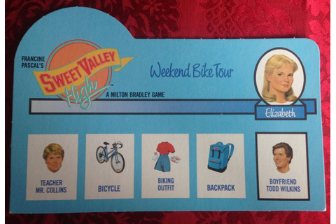 red lemonade: Sweet Valley High - THE GAME!