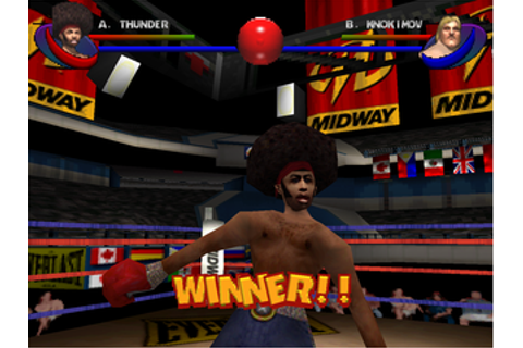 Ready 2 Rumble Boxing: Round 2 Screenshots for PlayStation ...