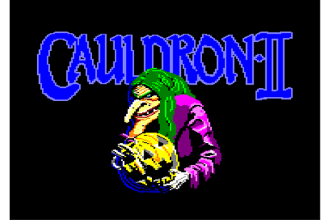 cauldron ii © palace software (1986)