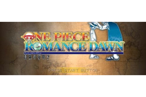 One Piece Romance Dawn PSP ISO - Download Game PS1 PSP ...