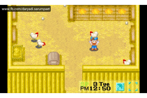 Harvest Moon Friends of Mineral Town GBA Game Review on ...
