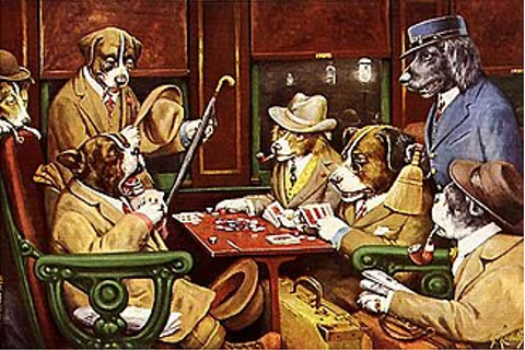 Dogs Playing Poker - Wikipedia