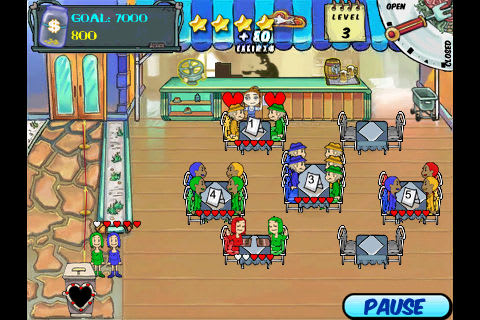 iPhone game review: Diner Dash