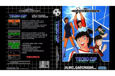 MEGA DRIVE - TECMO CUP FOOTBALL GAME - Captain Tsubasa ...