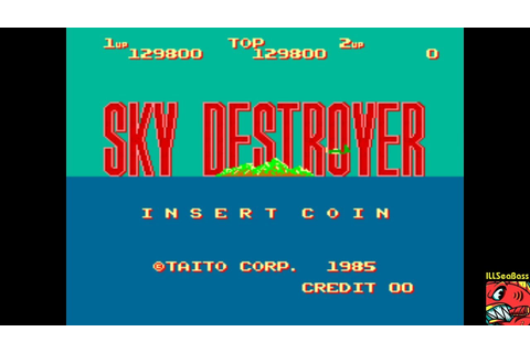 Sky Destroyer [skydest] MAME/ARCADE - 129,800 - YouTube