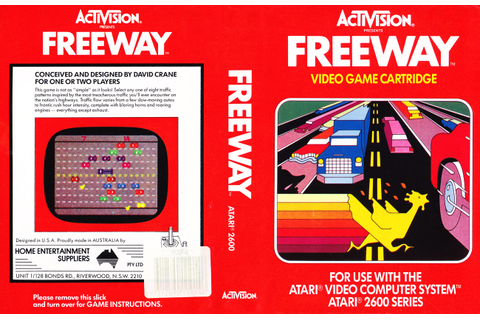 Atari 2600 VCS Freeway : scans, dump, download ...